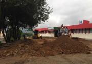 Prefeitura de Siderópolis inicia pavimentação em pátio