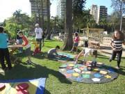 Lazer e solidariedade ao ar livre: Yázigi Day na Praça do Congresso