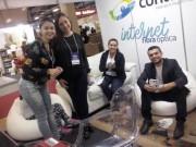 Contato interagiu com o público na Feira CasaPronta Tubarão