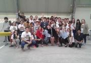 Sucesso de participação marca II Festival de Tênis de Mesa