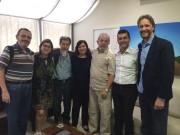 Deputado Pedro Uczai discute futuro do PT com Presidente Lula