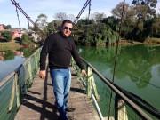 Ponte pênsil de Araranguá preocupa vereador de Araranguá