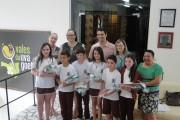 Alunos da rede municipal são premiados em concurso