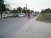 Travessia perigosa desperta preocupação no bairro Coloninha