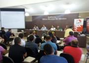 Sindicalistas levam pleitos ao deputado Edinho Bez