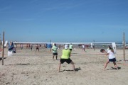 Beach Tênis agrada no torneiro em Balneário Rincão
