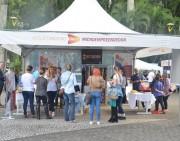 Evento na Praça Nereu Ramos fomenta o empreendedorismo
