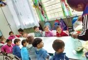 Crianças são incentivadas a terem alimentação saudável