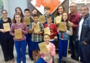 Estudantes da Escola Luiz Pelegrini visitam a Câmara de Vereadores