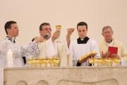 Dom Onécimo Alberton celebra quarta Missa no Santuário