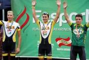 Criciúma conquista vitória no futebol e pódio no ciclismo