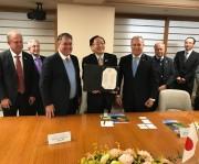 SC renova parceria e cooperação com os japoneses