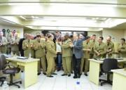 Câmara de Criciúma homenageia a PM pelo seus 182 anos