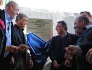 Governador e vice inauguram obra da Casan em Içara