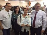 APAE de Siderópolis é premiada pela Central Geral do Dízimo