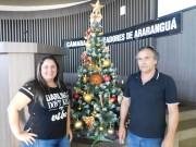 Servidores decoram Câmara e planejam ação beneficente