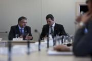 Colombo trata de investimentos em portos e aeroportos