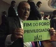 Deputado Jorginho Mello é a favor do fim do foro privilegiado