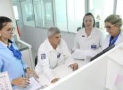 Avaliadores do PCE analisam gestão do Laboratório Búrigo
