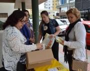 Dia do Combate ao Abuso Sexual teve panfletagem em Siderópolis