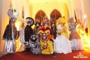 Turistas se encantam com o Baile de Gala em Nova Veneza