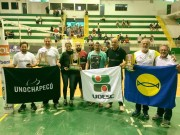 Atletas da Udesc conquistam hexacampeonato nos JUCs