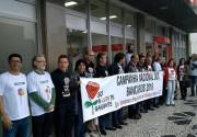 Bancários abrem campanha pedindo solidariedade