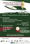 Prêmio Boas Práticas em Gestão Pública da Udesc está com inscrições abertas até 30 de abril