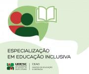 Udesc realiza seleção para Especialização em Educação Inclusiva