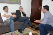 Gustavo Cancelier tem primeiro encontro de transição