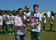 Rui Barbosa é campeão Regional da LARM de futebol Juvenil