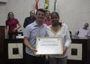 Vereadores concedem Título de Cidadão Honorária a médica