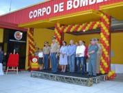 Autoridades de Cocal participam de formatura de bombeiros voluntários
