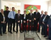 Acélio recebe prefeitos da Amrec para encaminhar pauta do carvão