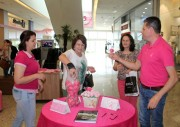 Dias rosas pela saúde da mulher no Shopping Pátio Chapecó