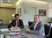 Rodrigo Minotto busca informações sobre Fundam com Gavazzoni
