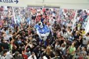 Robô Havan visita as lojas do sul de Santa Catarina