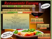 Restaurante Parque Europa – Jantar de Veneza