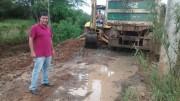 Secretaria de Jacinto Machado inicia limpeza em valos