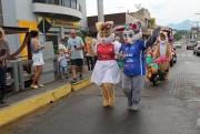 Nova Veneza realizou no sábado o desfile Dolce Páscoa