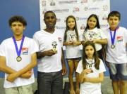 Enxadristas conquistam títulos no Festival Catarinense da Criança