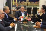 Colombo recebe novo cônsul do Japão para região Sul do Brasil