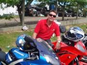 Vice-presidente da LARM morre em acidente de moto