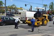 Rua Vitório Serafim é liberada para o trânsito em Criciúma