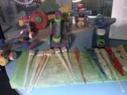 Artista Passionné dá aos diversos materiais uma nova vida