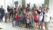 Festa para crianças carentes em comemoração a Páscoa