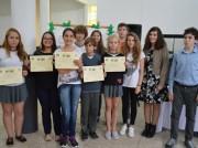 Prefeito da Itália entrega premiação às vencedoras do Angelo Fain Binda