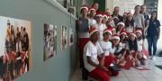 Estudantes abrem programação de Natal no HSD