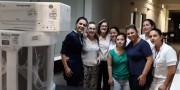 Hospital São Donato recebe climatizador em retribuição ao atendimento