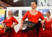 Unesc em Dança: A arte do flamenco conquistou a professora Giani